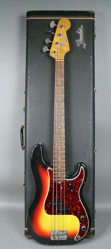 1966 Fender Jazz Bass Sunburst Guitars Bass Imperial Vintage Guitars Bass Fender Jazz Fender Jazz Bass