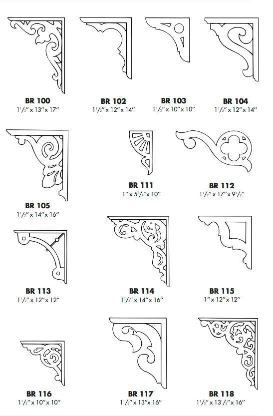 Catalog page 12 victorian millwork by mad river for Victorian home catalog