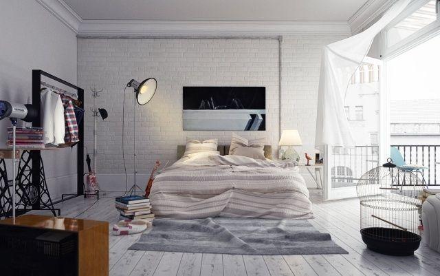 einrichtung hipster - google-suche | flat inspiration clean, Schlafzimmer design