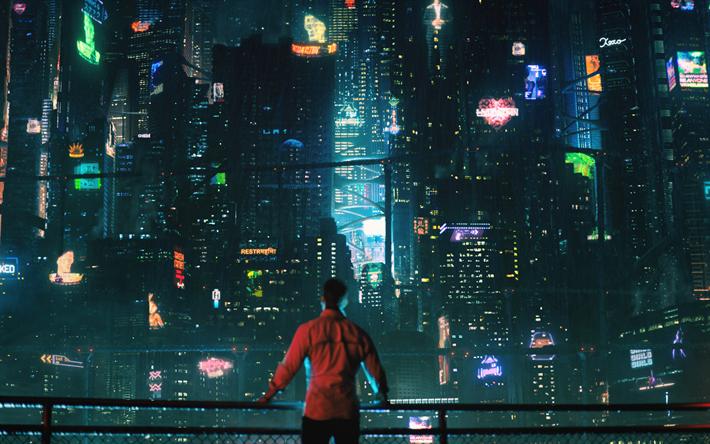 Download wallpapers Altered Carbon Netflix, 4k, poster ...