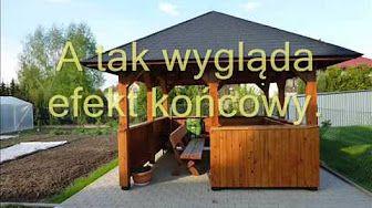 Budowa Altanki Od A Z Youtube Ogród Outdoor Structures