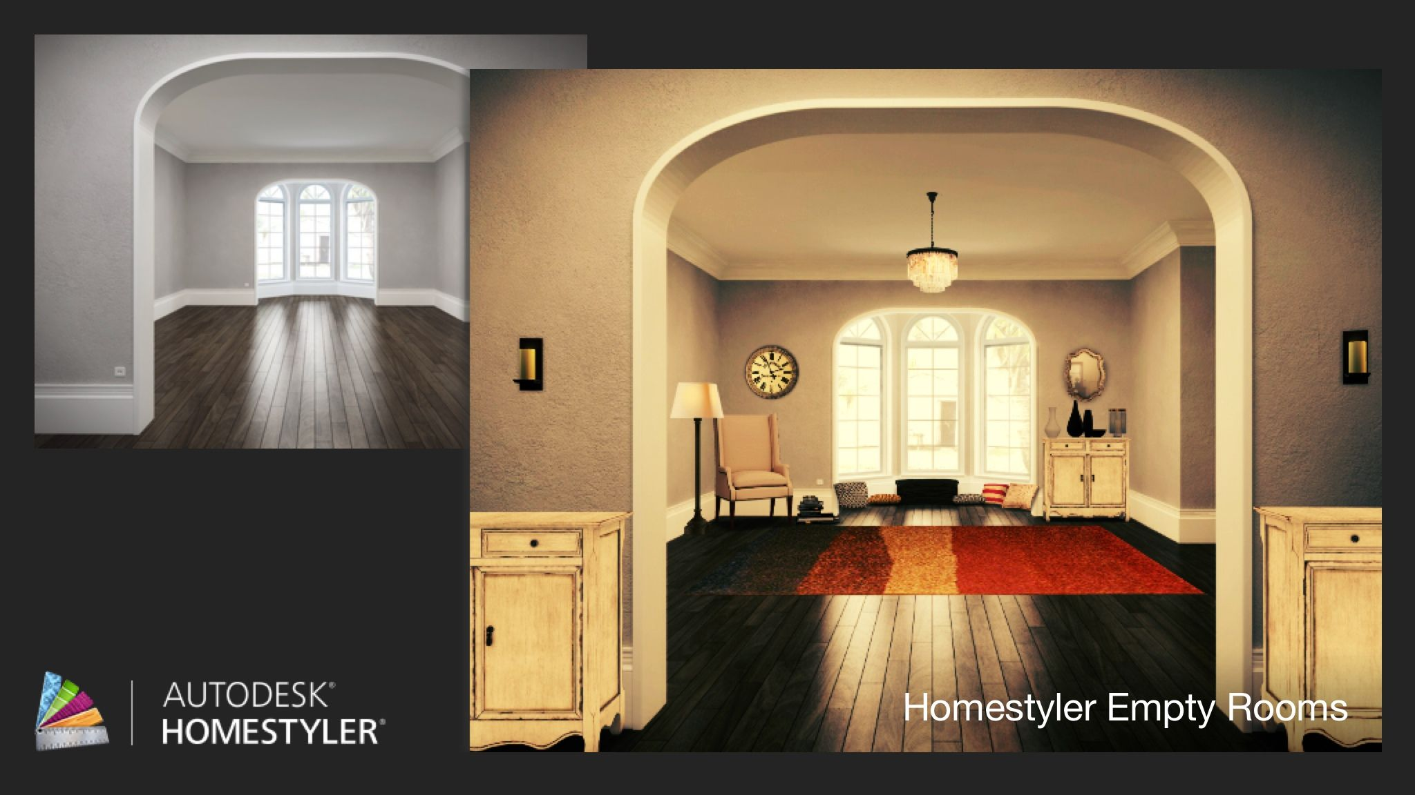 Empty rooms for homestyler - Check Out My Interiordesign Empty Room From Homestyler Http