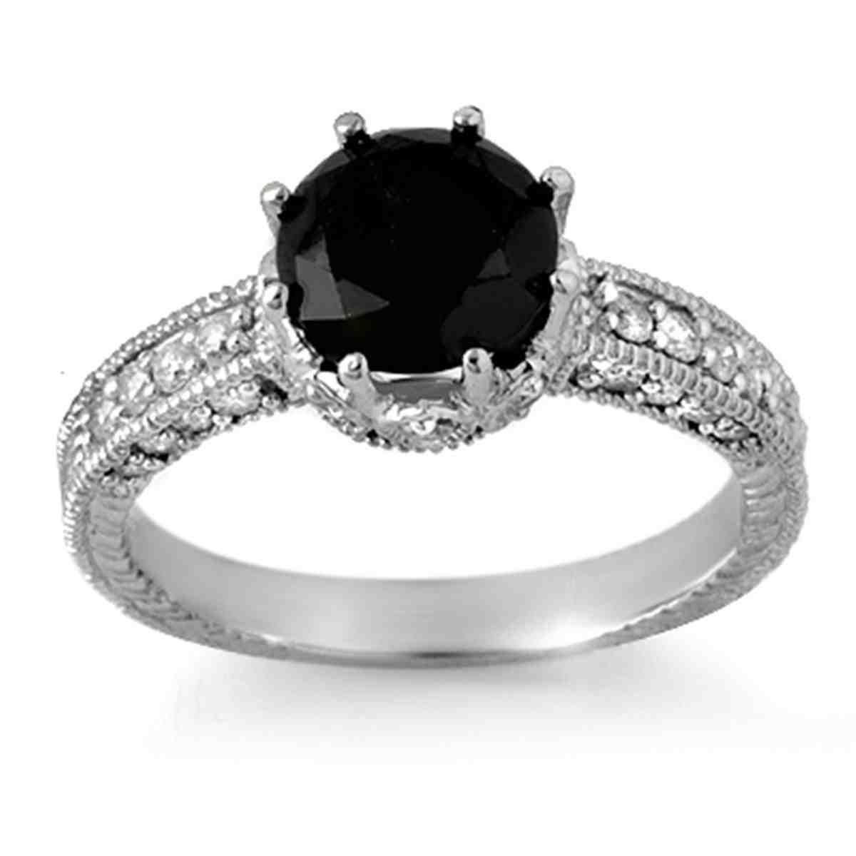Engagement Rings With Black Diamonds