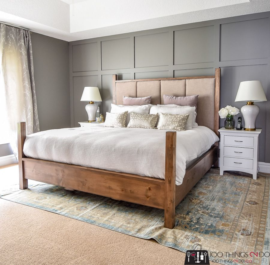 Best Diy King Size Bed King Size Upholstered Headboard King 400 x 300