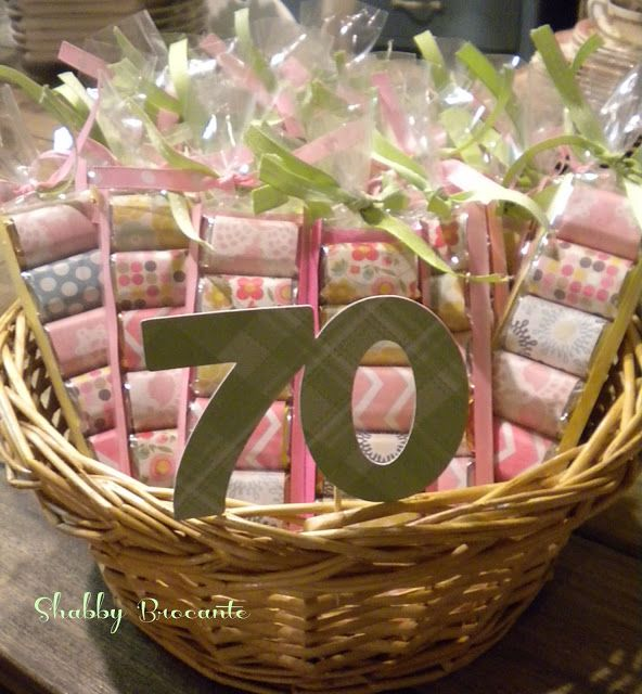 Shabby Brocante Herseys Adult Party Favors