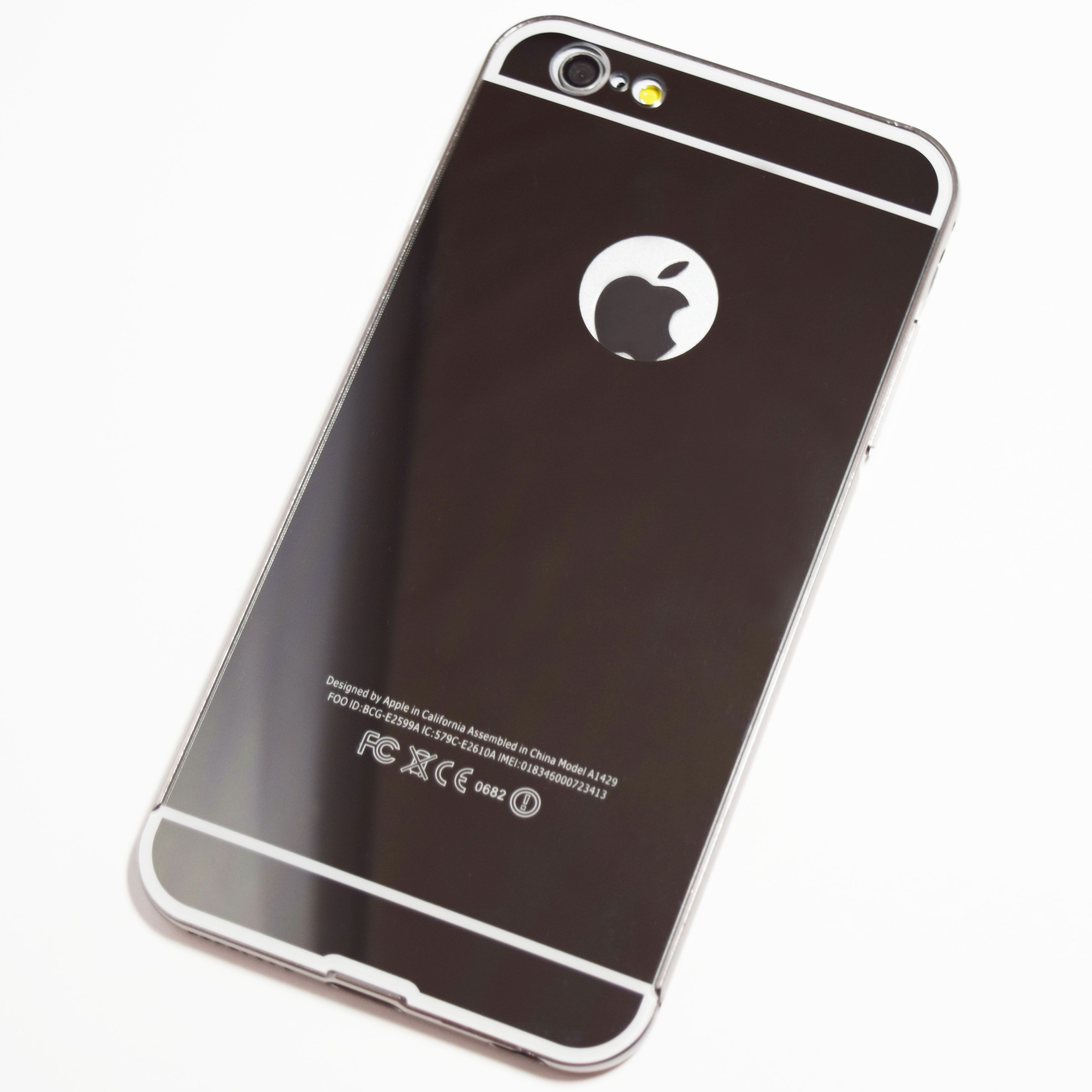 iphone 0682. space grey iphone 6 plus / 6s mirror case iphone 0682