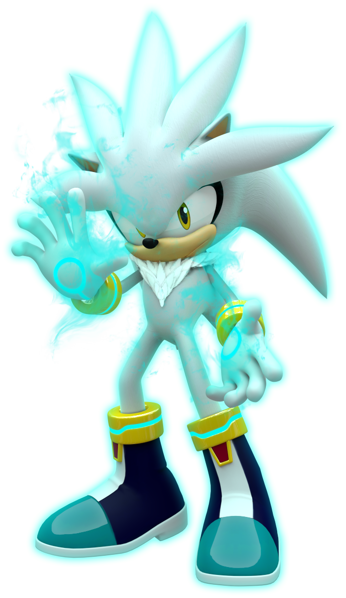 Silver The Hedgehog Sonic Boom