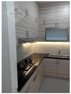 Desain Kitchen Set Minimalis Modern Gavin Serpong Kitchen Set