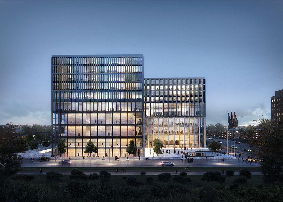 Innenarchitektur Lehre lehre aus der vergangenheit gerichtsgebäude kaan in amsterdam