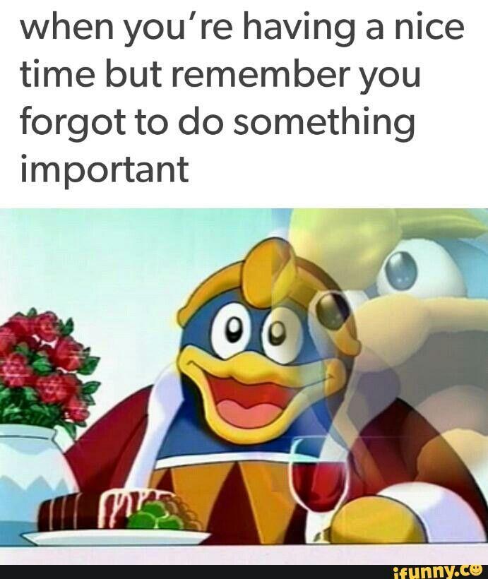 Yep Kirby Right Back At Ya Kirby Memes Relatable Funny Memes