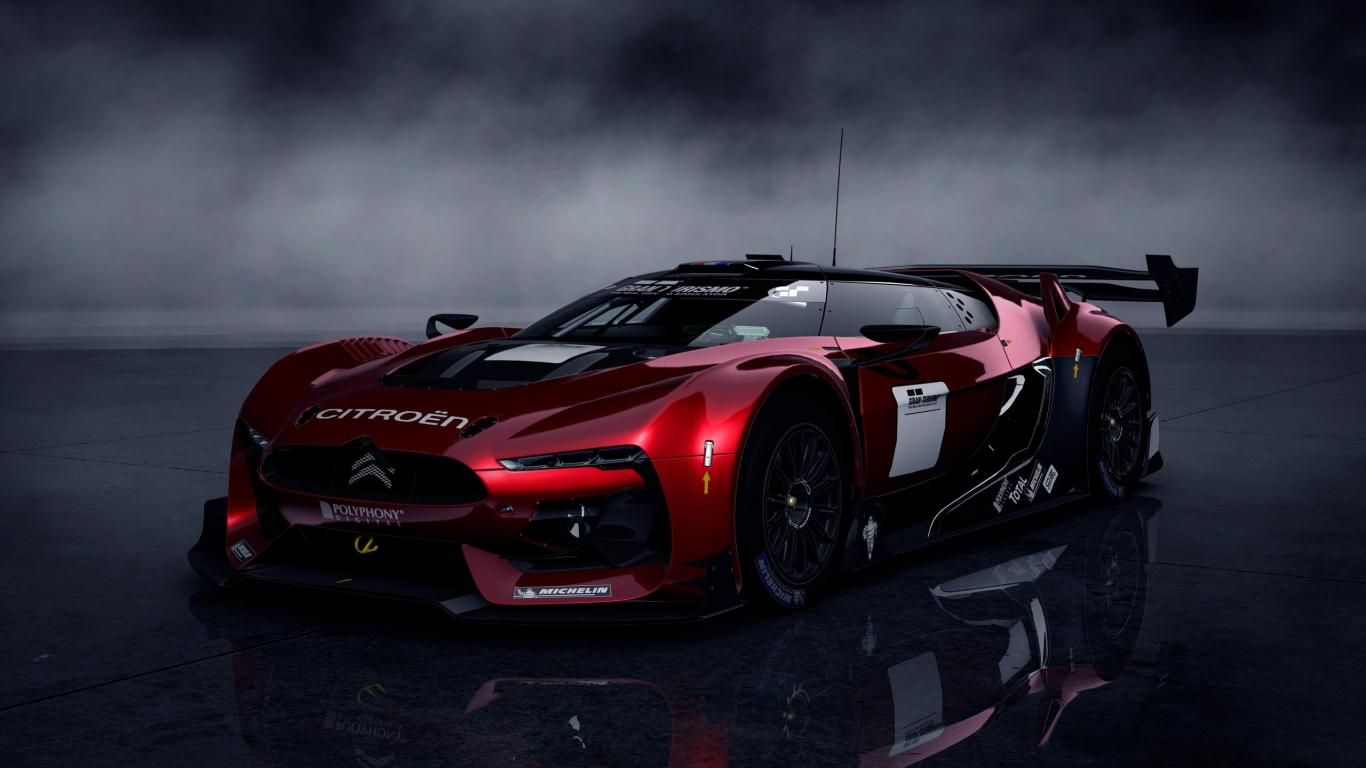 Charming Citroen Sports Car Widescreen Wallpaper Wallpapers Kingdom