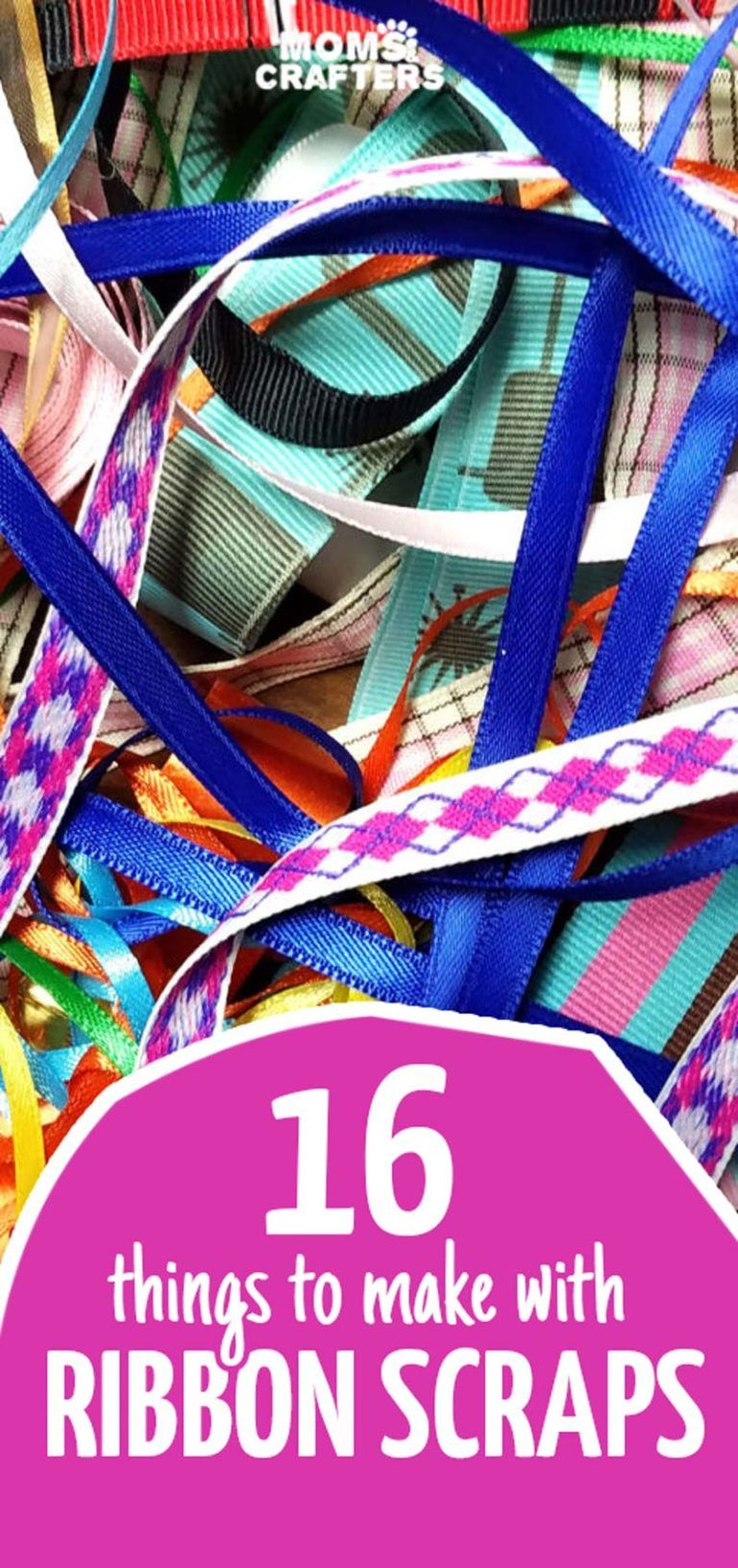 16 Things to Make with Ribbon Scraps