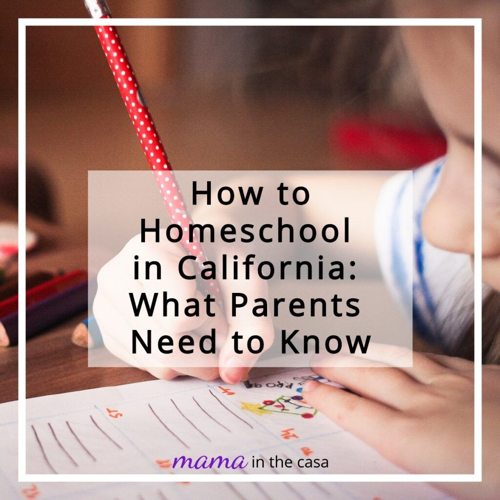 How to Homeschool in California What Parents Need to Know