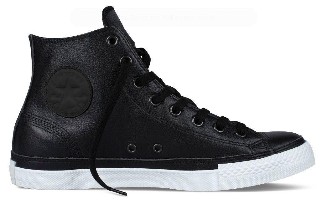 5f98a303 Chuck Taylor Leather :: Converse | zapatos | Zapatos botines ...