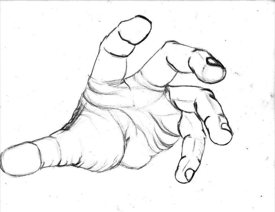 hand drawings | Hand Drawing 1 by ~BrandoHarristo on ...Grabbing Hand Drawing