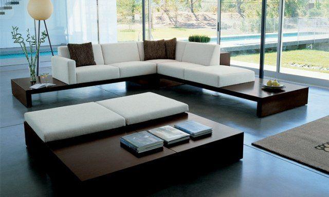 50 idées fantastiques de canapé du0027angle pour salon moderne Diseño