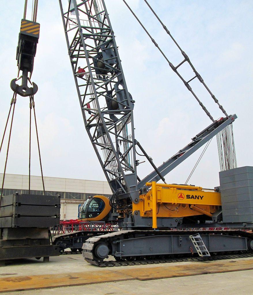 SANY SCC8500 Crawler Crane