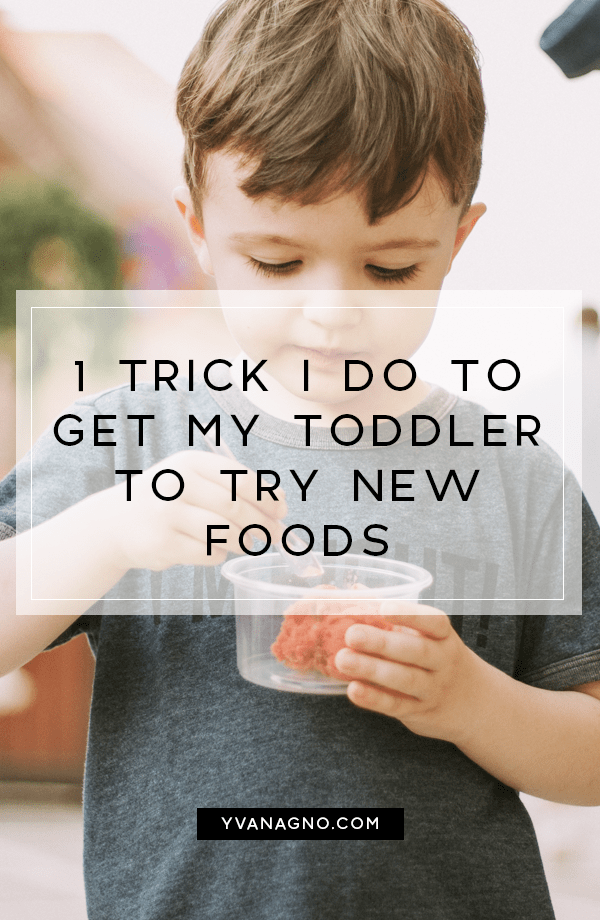 1 Trick I Do To Get My Toddler To Try New Foods  #mommydiaries #motherhood #yxe #yxeblogger #toddler #getkidstoeat #pickyeater #pickyeaters #getkidstoeatnewfood #getkidstotrynewfoods #saskatoon #momblog #mommyblogger #momblogger #mommyblog