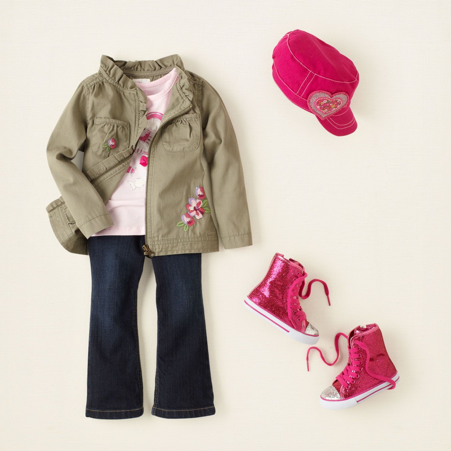 baby girl - outfits - baby rocks - cherry on top | Children's Clothing | Kids Clothes | The Children's Place