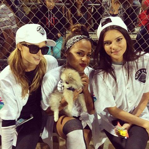 Paris Hilton, Christina Milian, and Kendall Jenner