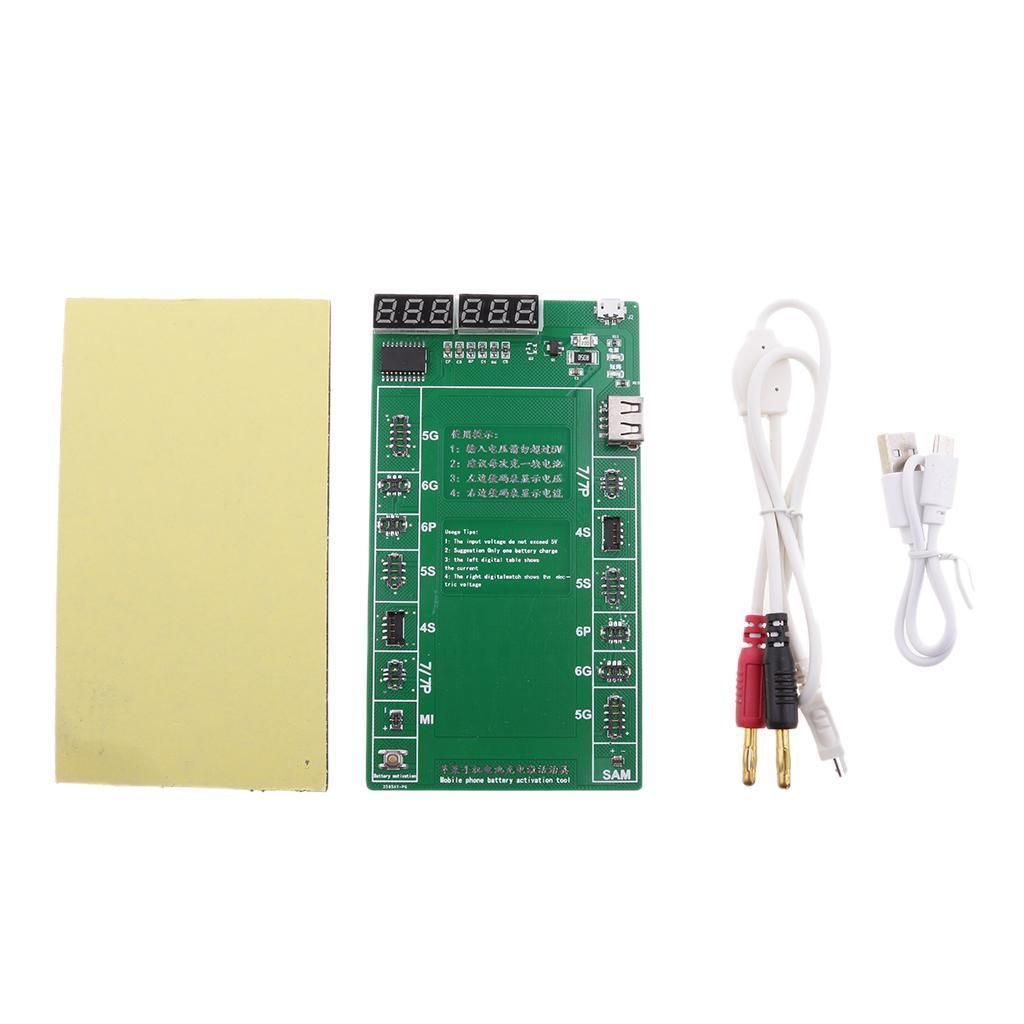 1092 Fast Battery Charger Circuit Board Activation Tester For Cell Phone Iphone 7 6 5s 5 4s