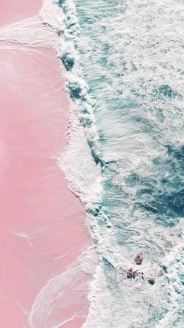 Video Pink Beach Aesthetic Pejzazhi Fonovye Risunki Fotografii Zadnih Planov