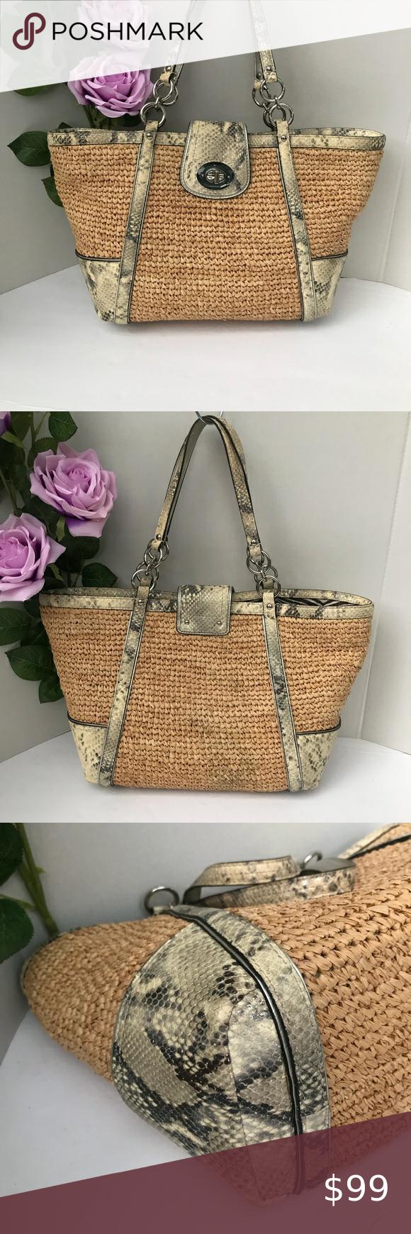 Chloé Cashmere Grey Leather Stitched Detail Marcie