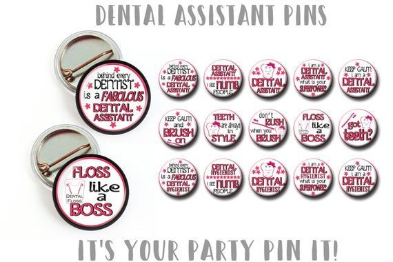 Dental Assistant 1 inch Pinback Buttons Healthcare Pin, Nurses Week, Dental Assistant  Gift, Nurses Gift,  lanyard pin, lapel pin #dentalassistant Dental Assistant 1 inch Pinback Buttons Healthcare Pin, Nurses Week, Dental Assistant  Gift, Nurses #dentalassistant