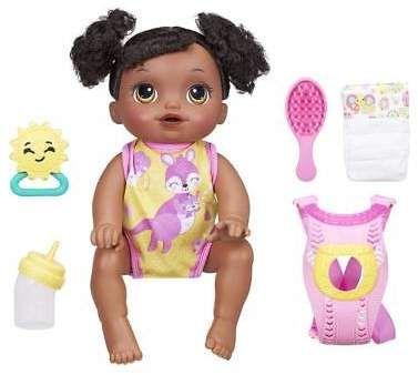 Baby Alive Baby Go Bye Bye Dark Brown Hair Baby Alive Dolls Baby Alive Baby Doll Accessories