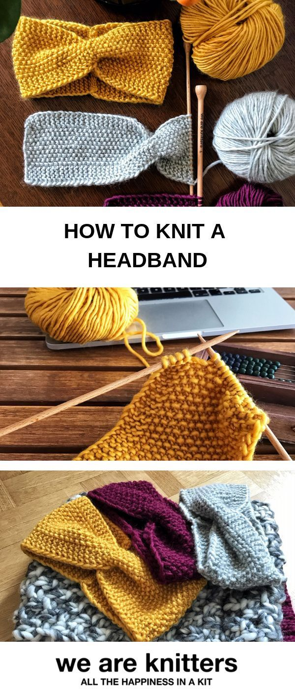 Photo of Heiliges Kopfband #knittingdesigns Wie man ein einfaches Haarband mit Moosstich …