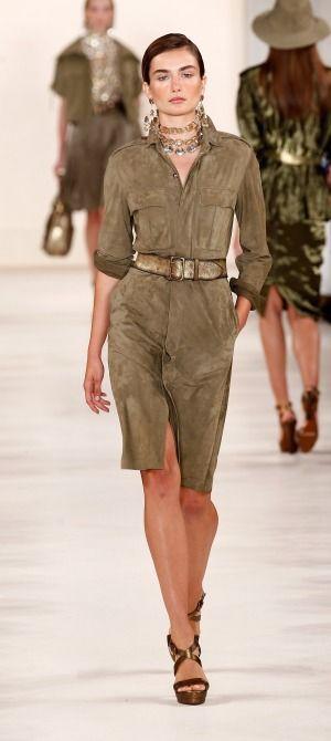 NY  Ralph Lauren - Runway - Mercedes-Benz Fashion Week Spring 2015 ... 3acbd0e8cb3