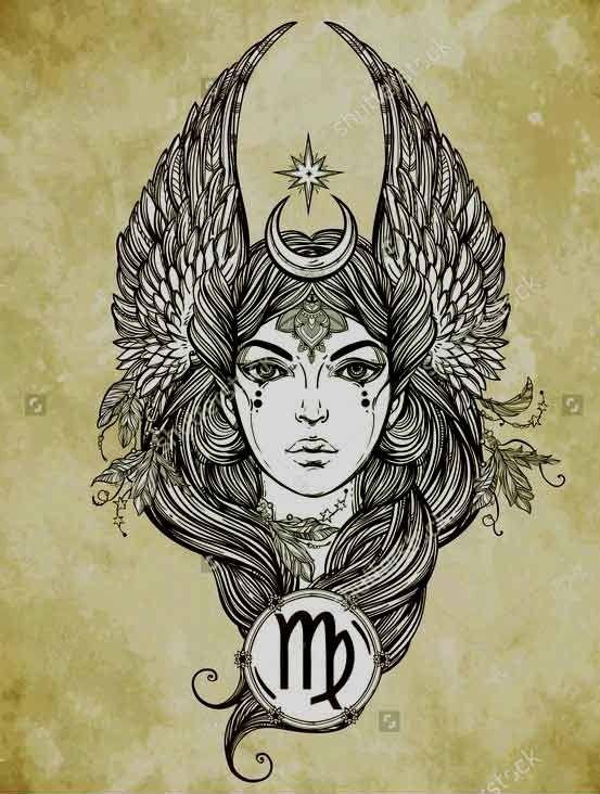 Virgo Tattoos Horoscopes Men