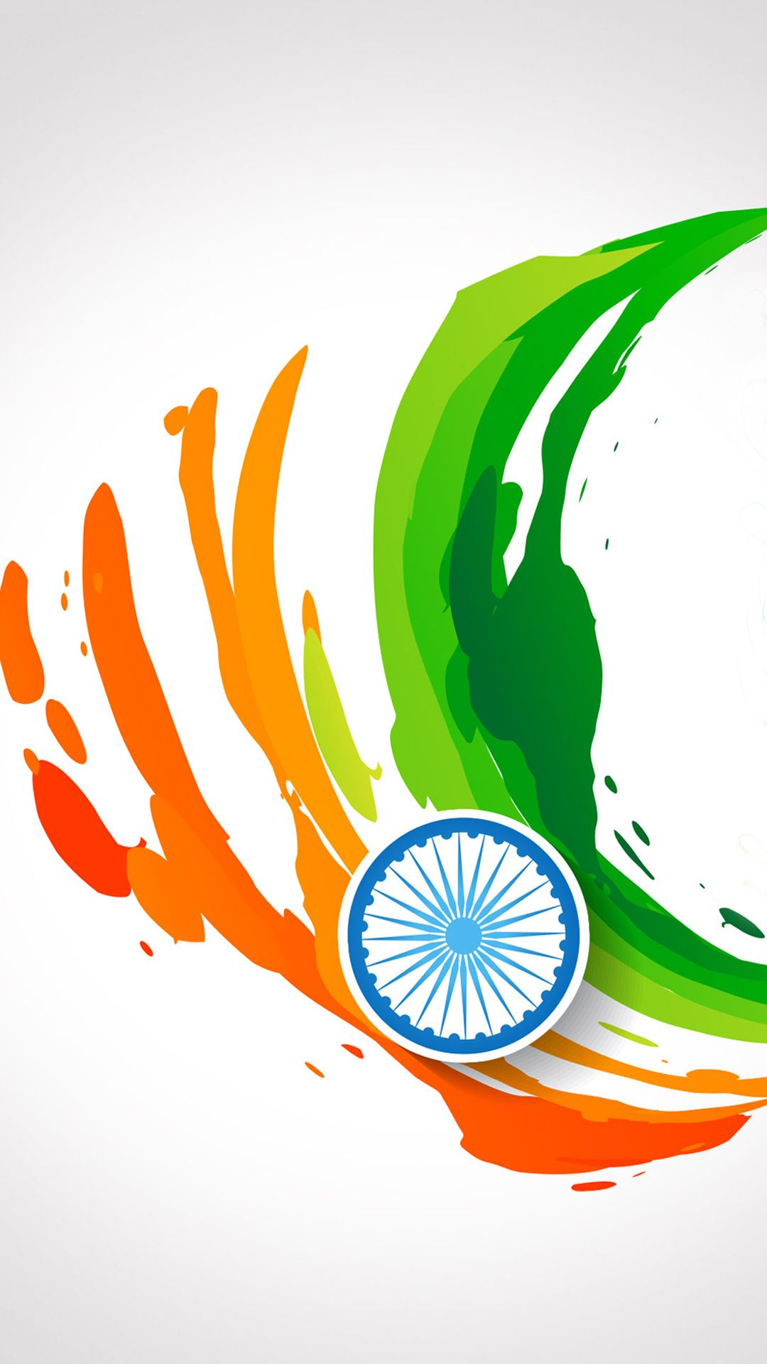 India Flag For Mobile Phone Wallpaper 14 Of 17 Abstract