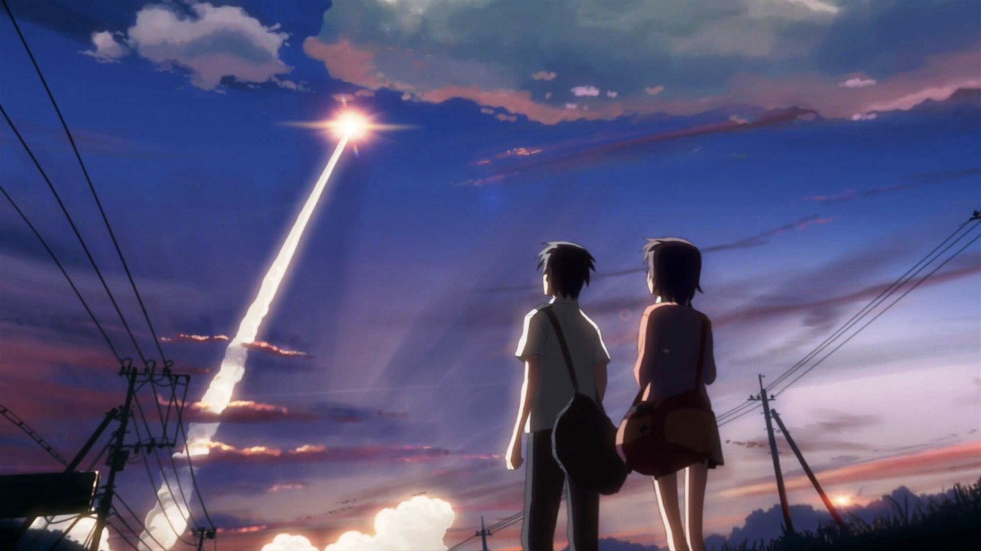 5 Centimeters Per Second Anime, Paisajes anime y Fondos