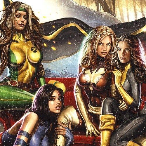 X-MEN Marvel Babes ART P...