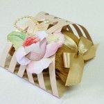 Como fazer uma embalagem treliça para doces e bem-casados