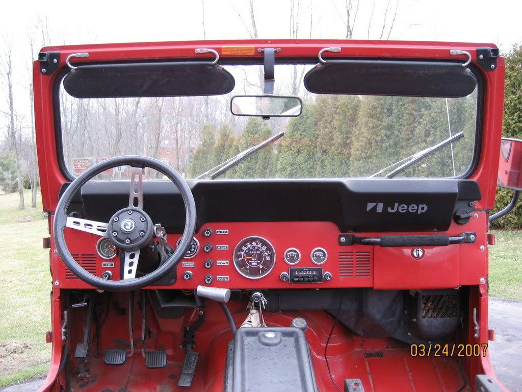 Cj Dash Restoration That Classic Look Jeepforum Com Jeep Cj5 Jeep Cj Jeep Cj7