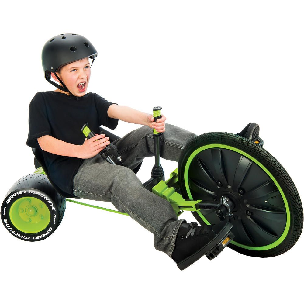 Ian 97 Get Ready For Spin Action With The Huffy 20 Green Machine
