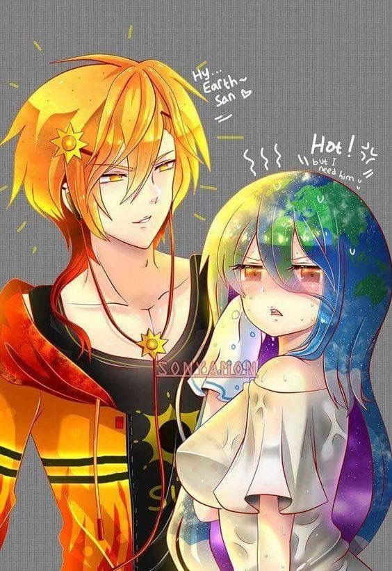 Earth Chan X Sun Kun