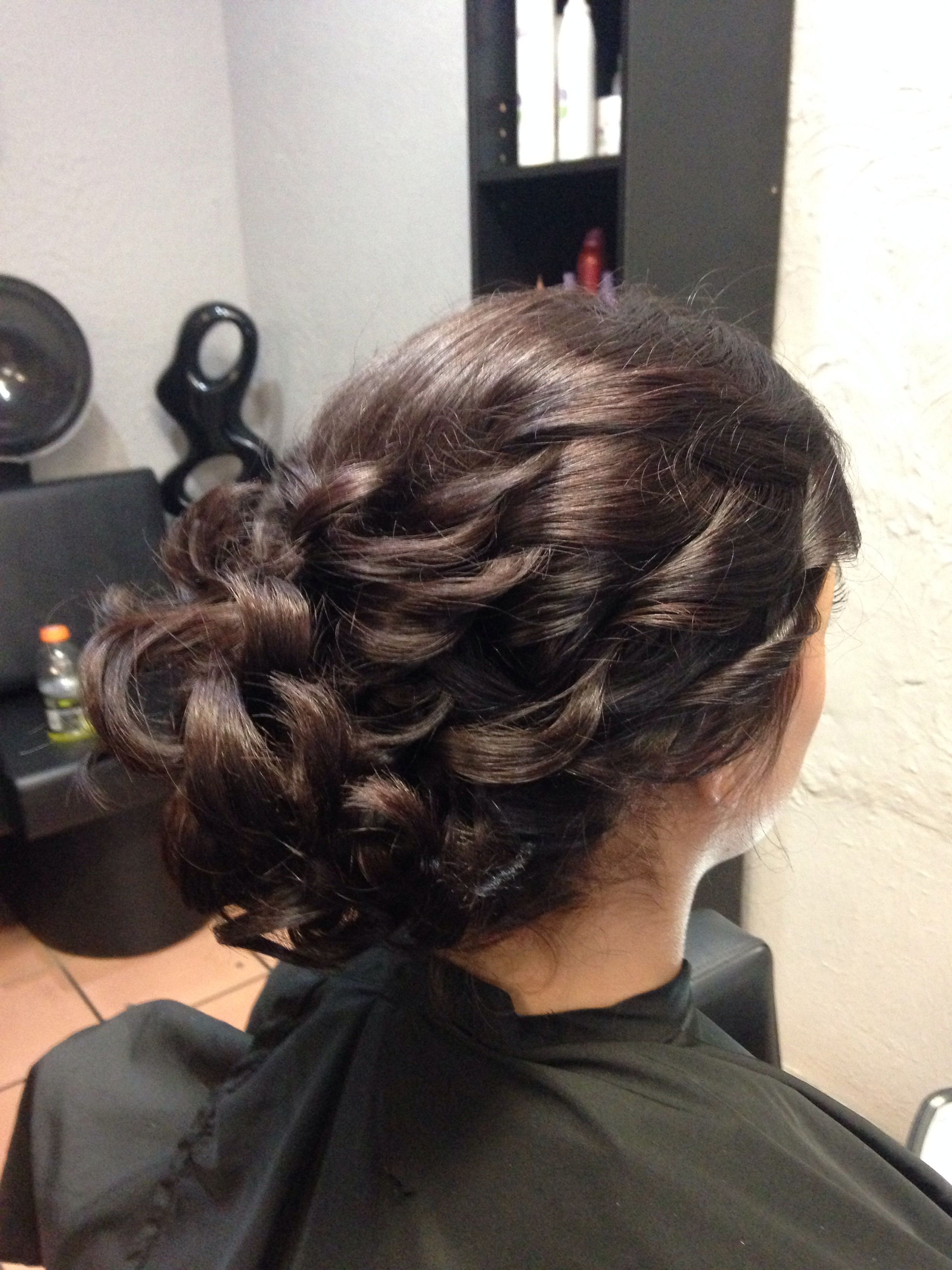 Beautiful formal updo | Formal hairstyles, Hair styles