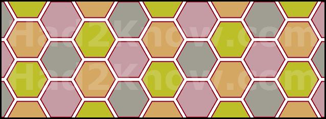 hexagon tiles hex tile