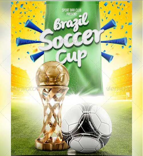 SOCCER TOURNAMENT FLYER DESIGN Design Pinterest - football flyer template