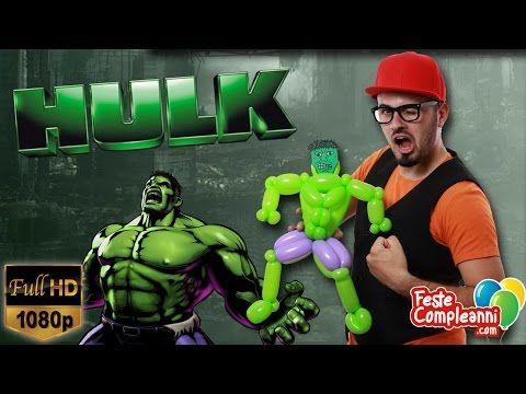 Hulk Balloon - Scultura con Palloncini - Hulk Balloon - Palloncino Hulk - Bentornati nel mondo della Marvel!! Oggi vedremo insieme come realizzare una scultura con i palloncini modellabili a forma di Hulk...state attenti a non farlo arrabbiare.