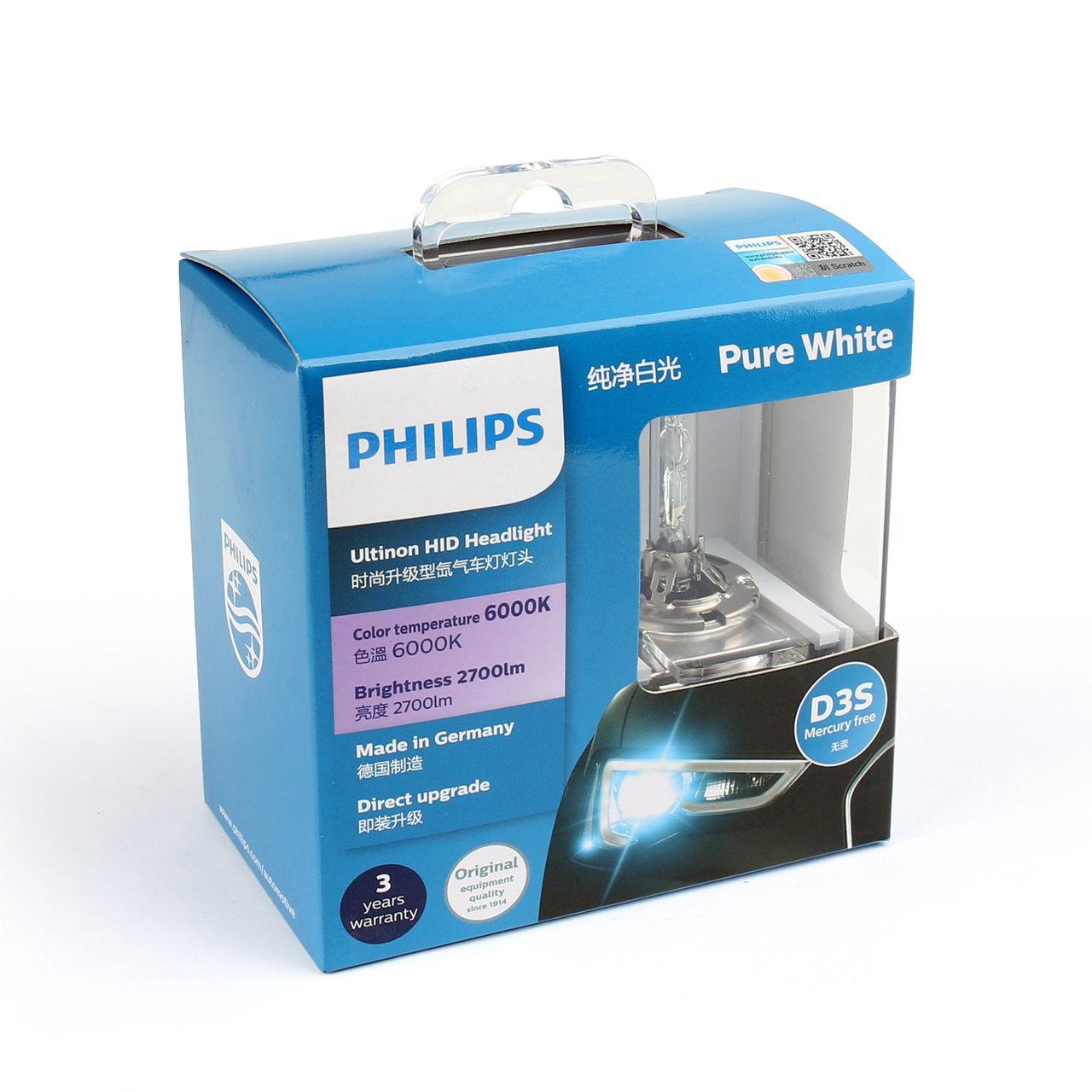 Mad Hornets Genuine Philips 42403 Ultinon Hid Xenon Car Headlight Bulbs D3s 6000k 42v 35w 189 99 Http Car Headlight Bulbs Headlight Bulbs Car Headlights