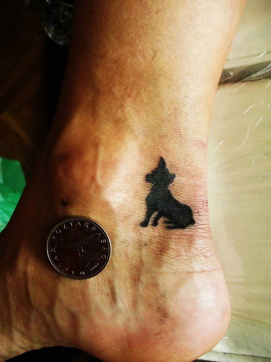 Small Black Dog By Selejt On Deviantart Small Black Dog Black Dog Small Tattoos