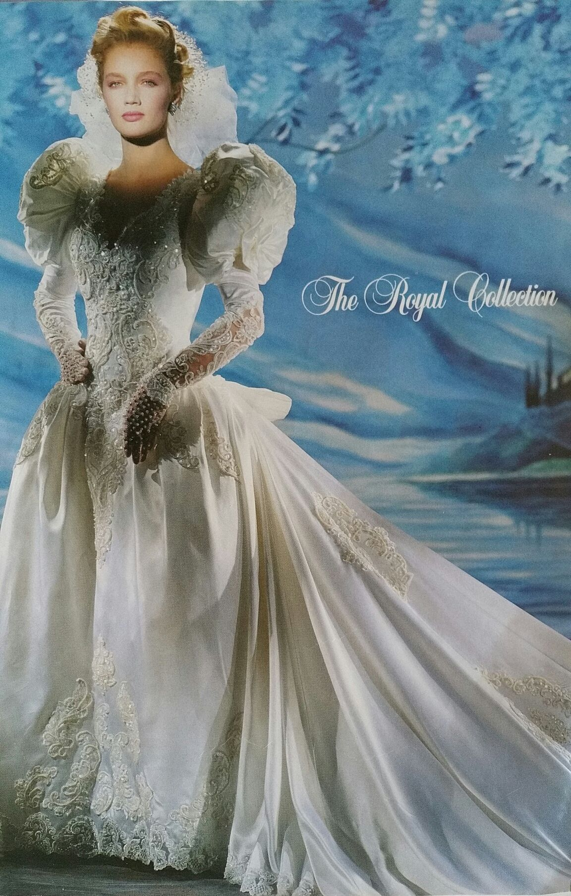 Demetrios 1991/1992   80\'s wed   Pinterest   Wedding dress, Vintage ...