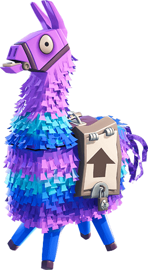 Upgrade Llamas Are A Type Of Lootbox In Fortnite When First Hit They Have A Small Chance Of Turning Silver Which Will Dr Pinata Fortnite Gaming Wallpapers