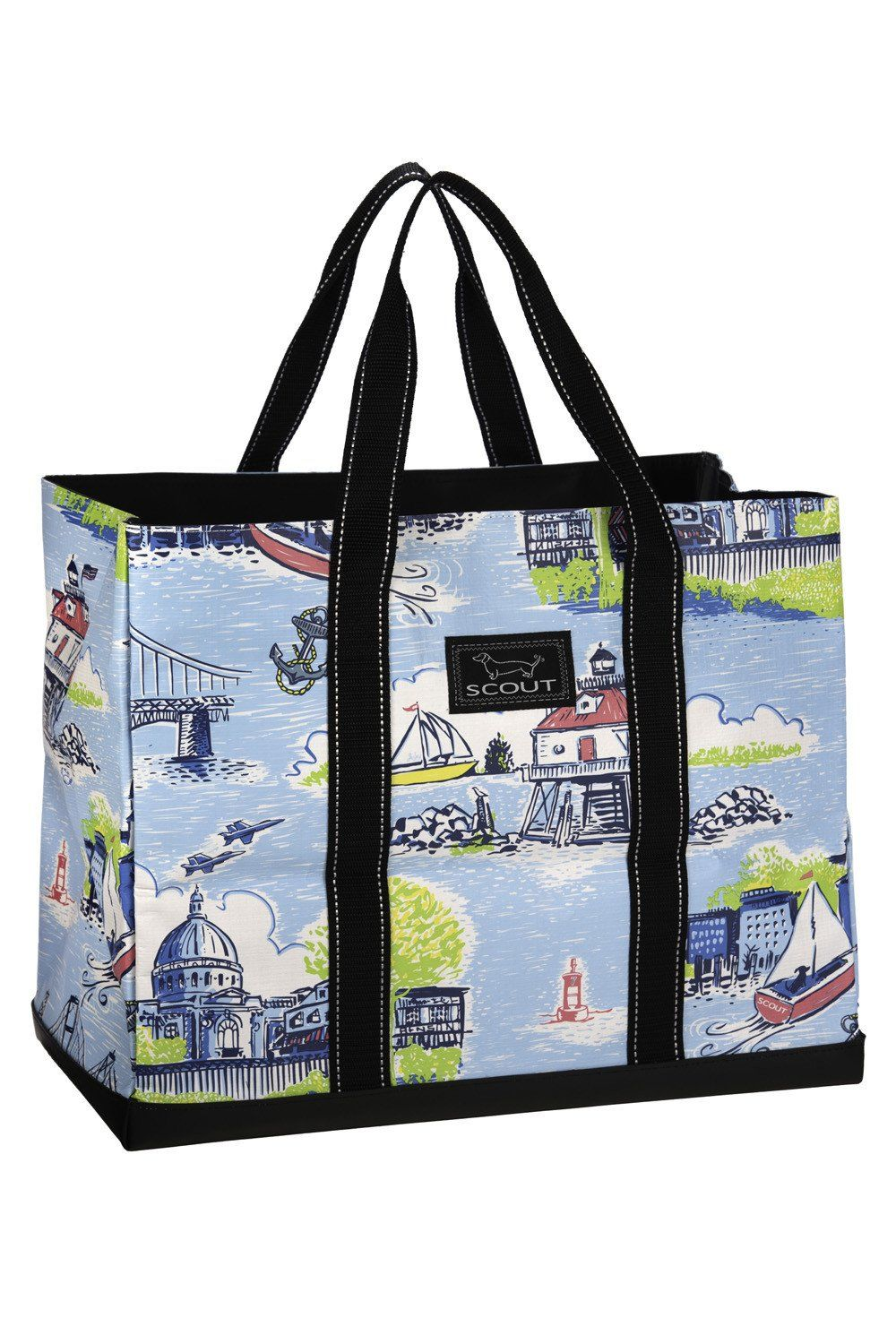 Great graduation gift  Whimsicality SCOUT bag! SCOUT Select Annapolis  pattern.  shopwhimsicality scoutbags annapolis graduationgift 0297355811516