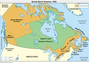 Map Of Canada During Confederation.Pre Confederation Canada Yahoo Image Search Results As The World