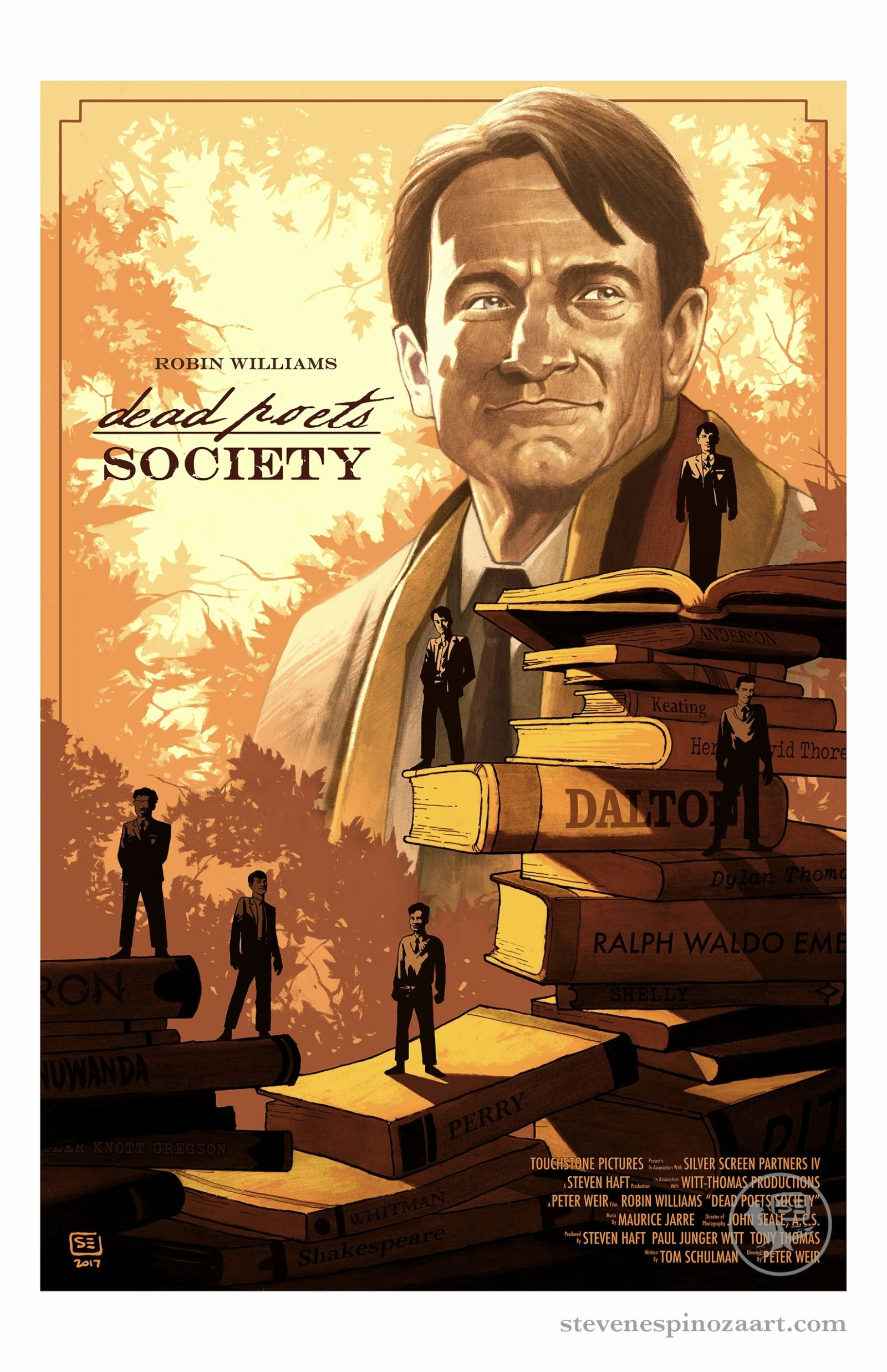 Dead Poets Society #filmposters